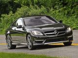 Photos of Mercedes-Benz CL 65 AMG US-spec (C216) 2010