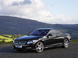 Photos of Mercedes-Benz CL 500 AMG Sports Package UK-spec (C216) 2010