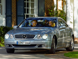 Pictures of Mercedes-Benz CL 600 (S215) 1999–2002