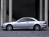 Pictures of Mercedes-Benz CL 55 AMG (C215) 2002–06