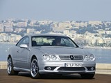Pictures of Mercedes-Benz CL 65 AMG (C215) 2003–06
