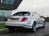Pictures of Mercedes-Benz CL 63 AMG UK-spec (C216) 2007–10