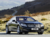 Pictures of Mercedes-Benz CL 500 AMG Sports Package UK-spec (C216) 2010