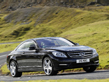 Mercedes-Benz CL 500 AMG Sports Package UK-spec (C216) 2010 wallpapers