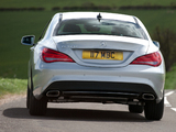 Mercedes-Benz CLA 180 UK-spec (C117) 2013 pictures