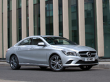 Photos of Mercedes-Benz CLA 180 UK-spec (C117) 2013