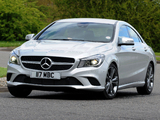 Pictures of Mercedes-Benz CLA 180 UK-spec (C117) 2013
