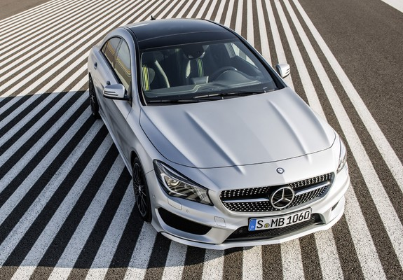 Benz CLA 250 AMG Sports Package Edition 1 C117 2013 wallpapers