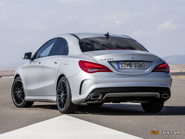 mercedes benz cla 250 amg sports package edition 1 c117