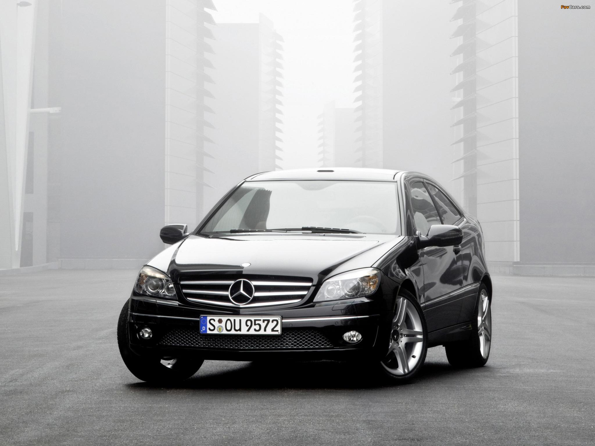 Images of Mercedes-Benz CLC 200 Kompressor 2008–11 (2048 x 1536)