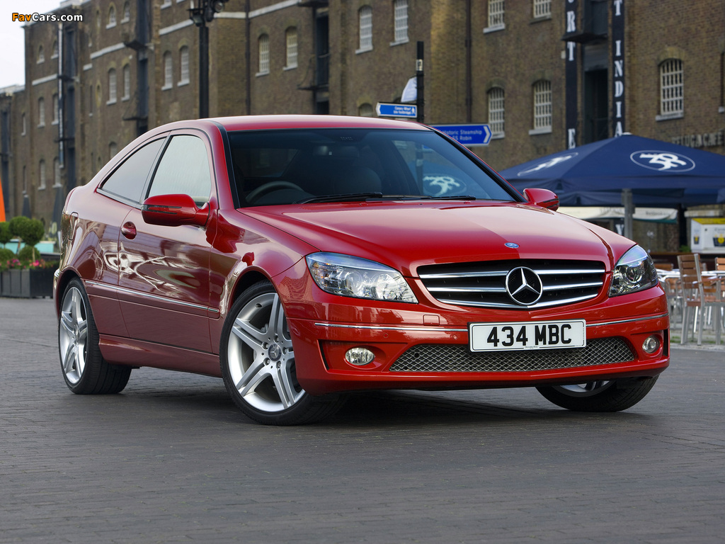 Images of Mercedes-Benz CLC 180 Kompressor UK-spec 2008–11 (1024 x 768)
