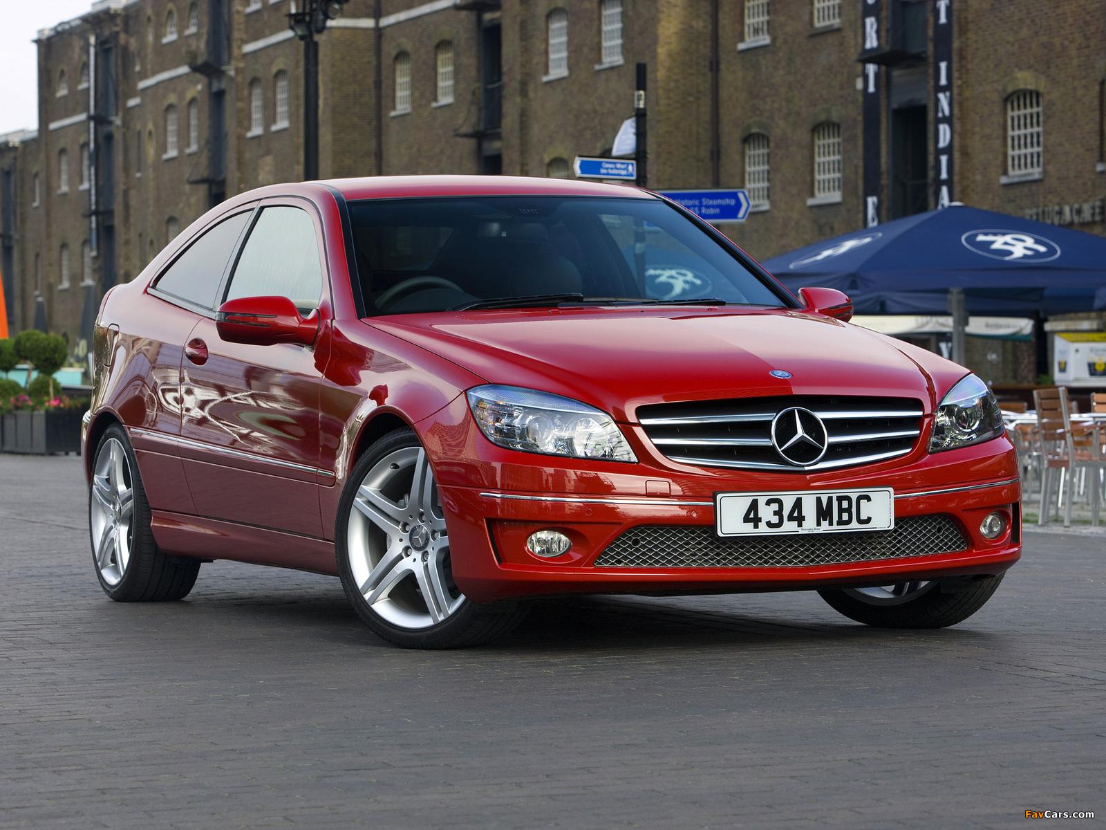 Images of Mercedes-Benz CLC 180 Kompressor UK-spec 2008–11 (1600 x 1200)