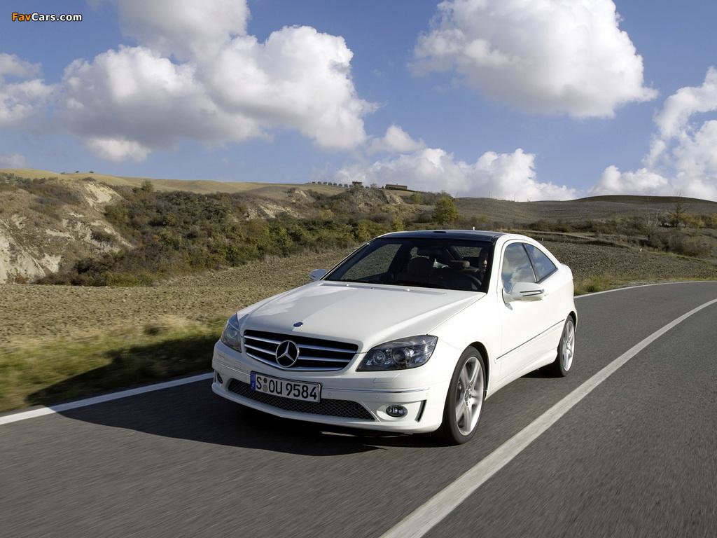 Images of Mercedes-Benz CLC 220 CDI 2008–10 (1024 x 768)