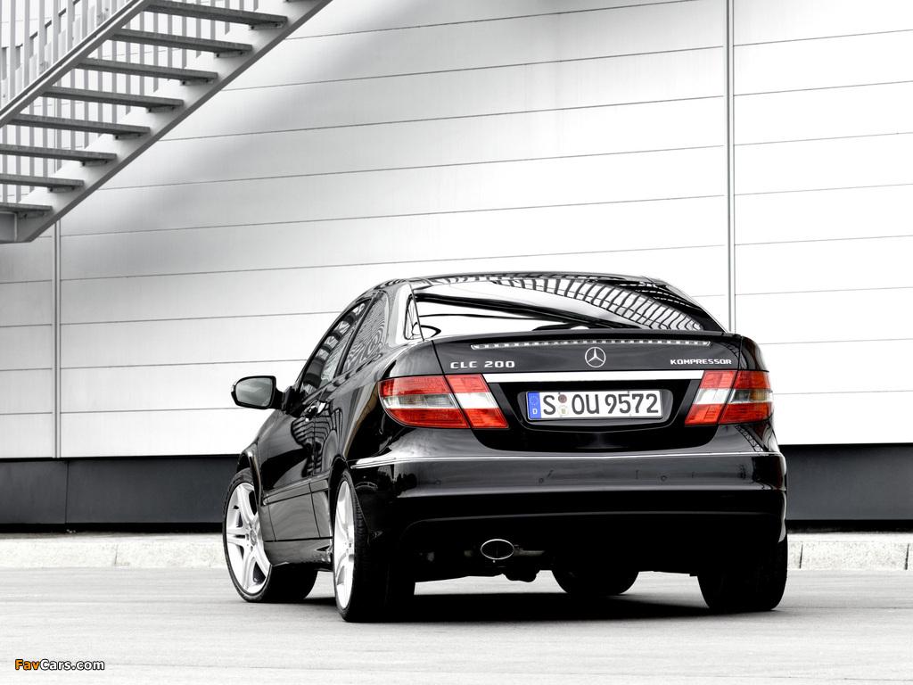 Images of Mercedes-Benz CLC 200 Kompressor 2008–11 (1024 x 768)