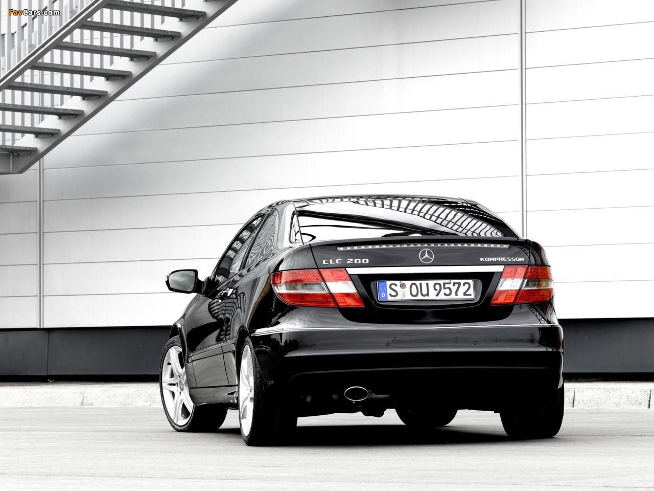 Images of Mercedes-Benz CLC 200 Kompressor 2008–11 (1280 x 960)