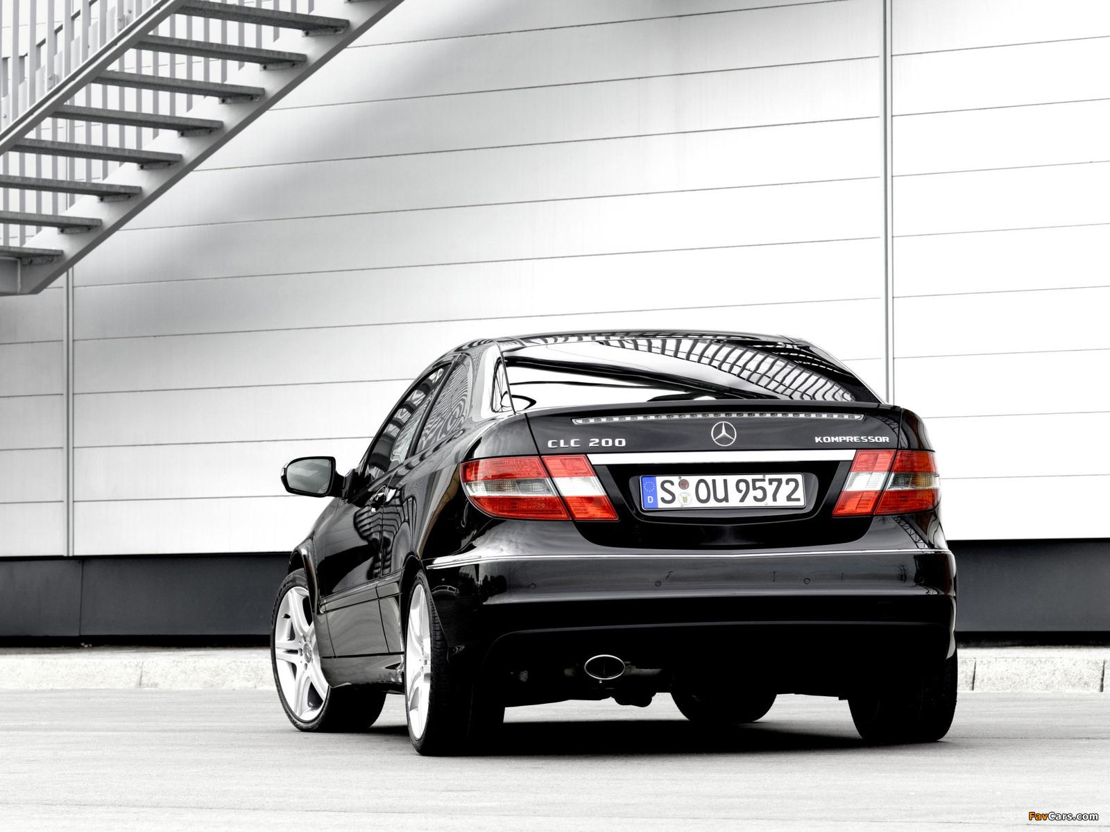 Images of Mercedes-Benz CLC 200 Kompressor 2008–11 (1600 x 1200)