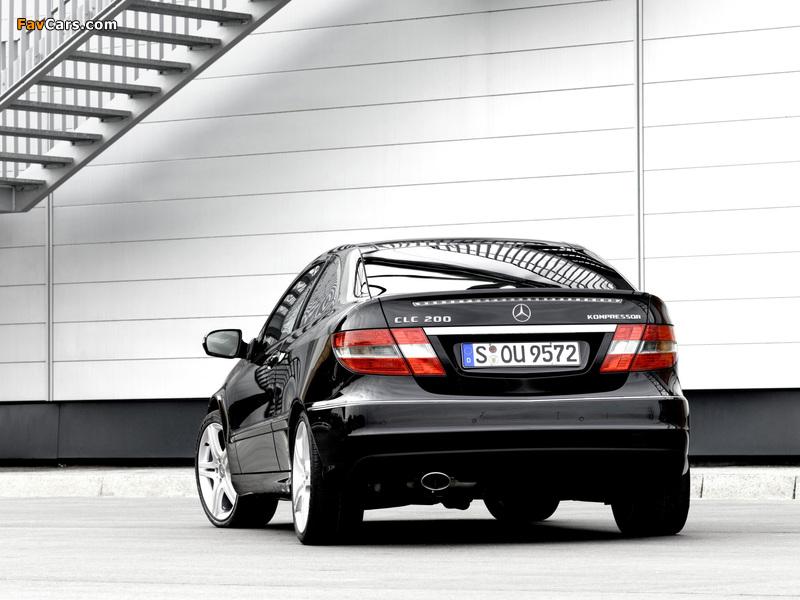 Images of Mercedes-Benz CLC 200 Kompressor 2008–11 (800 x 600)