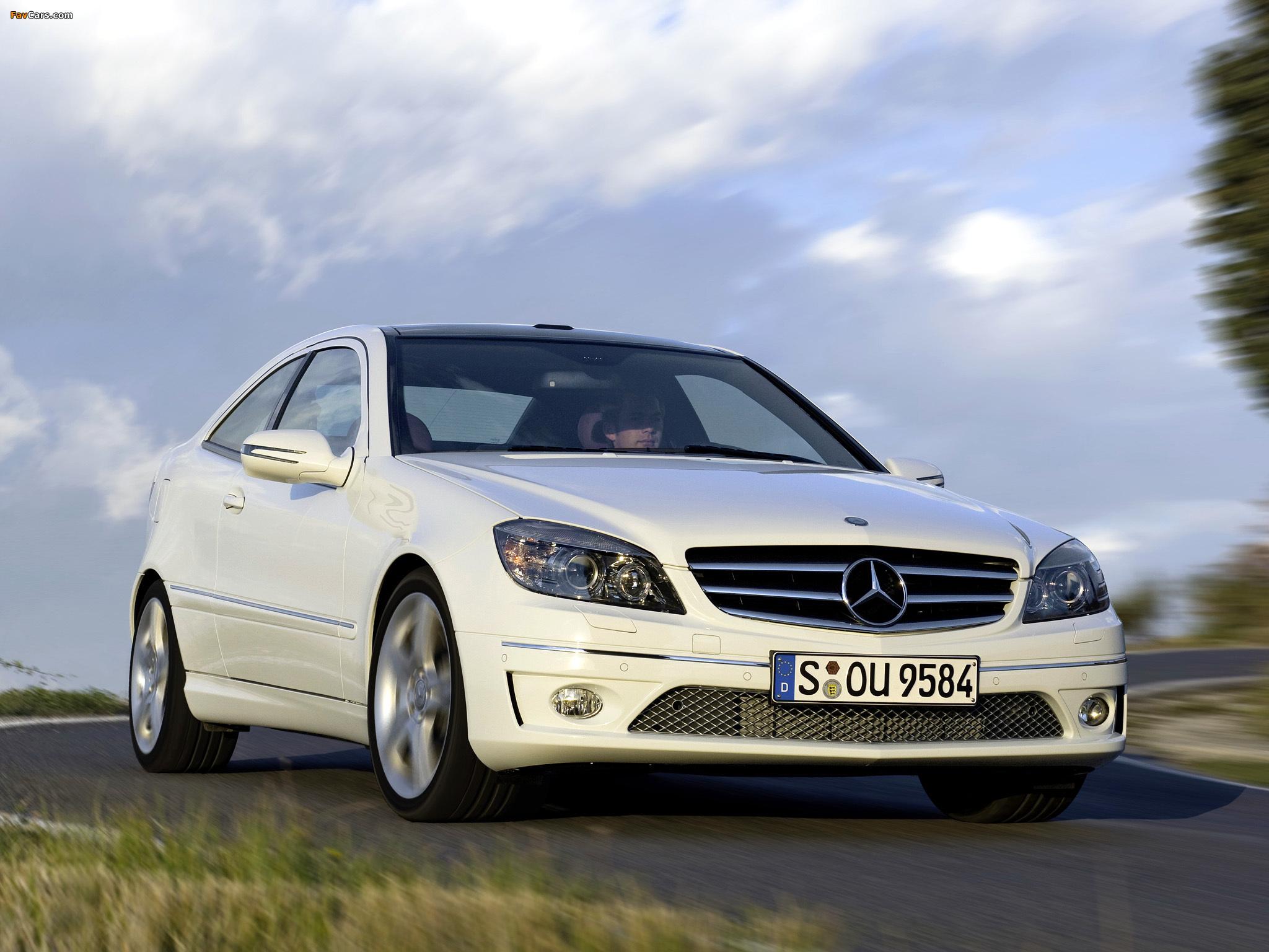 Mercedes-Benz CLC 220 CDI 2008–10 images (2048 x 1536)