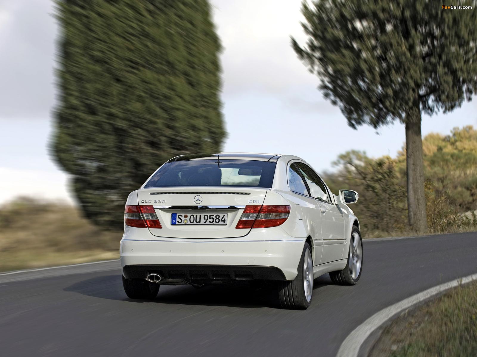 Mercedes-Benz CLC 220 CDI 2008–10 images (1600 x 1200)
