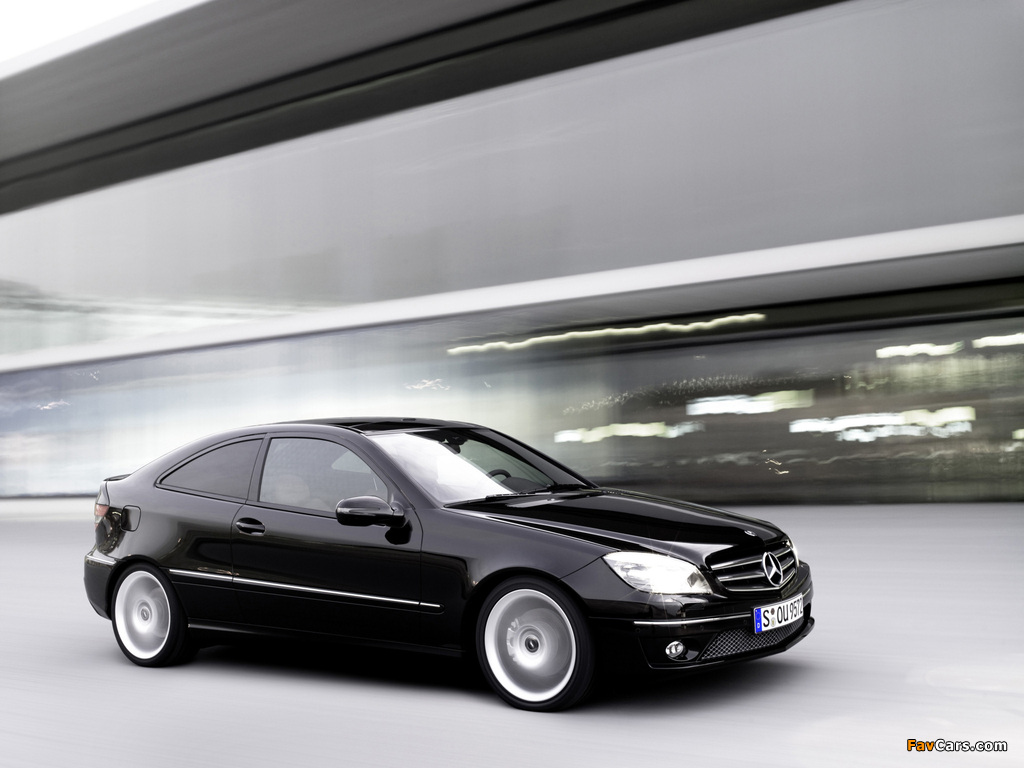 Mercedes-Benz CLC 200 Kompressor 2008–11 images (1024 x 768)