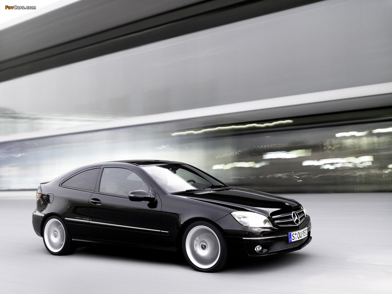 Mercedes-Benz CLC 200 Kompressor 2008–11 images (1280 x 960)