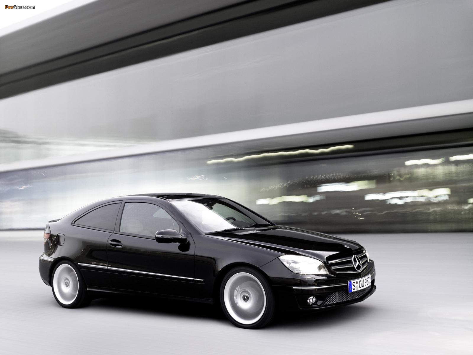 Mercedes-Benz CLC 200 Kompressor 2008–11 images (1600 x 1200)
