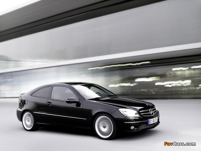 Mercedes-Benz CLC 200 Kompressor 2008–11 images (640 x 480)