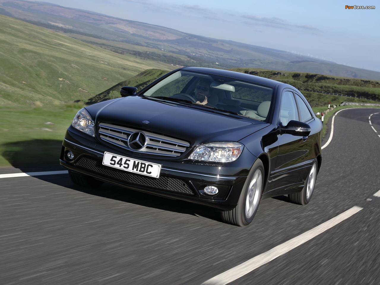 Mercedes-Benz CLC 220 CDI UK-spec 2008–10 images (1280 x 960)