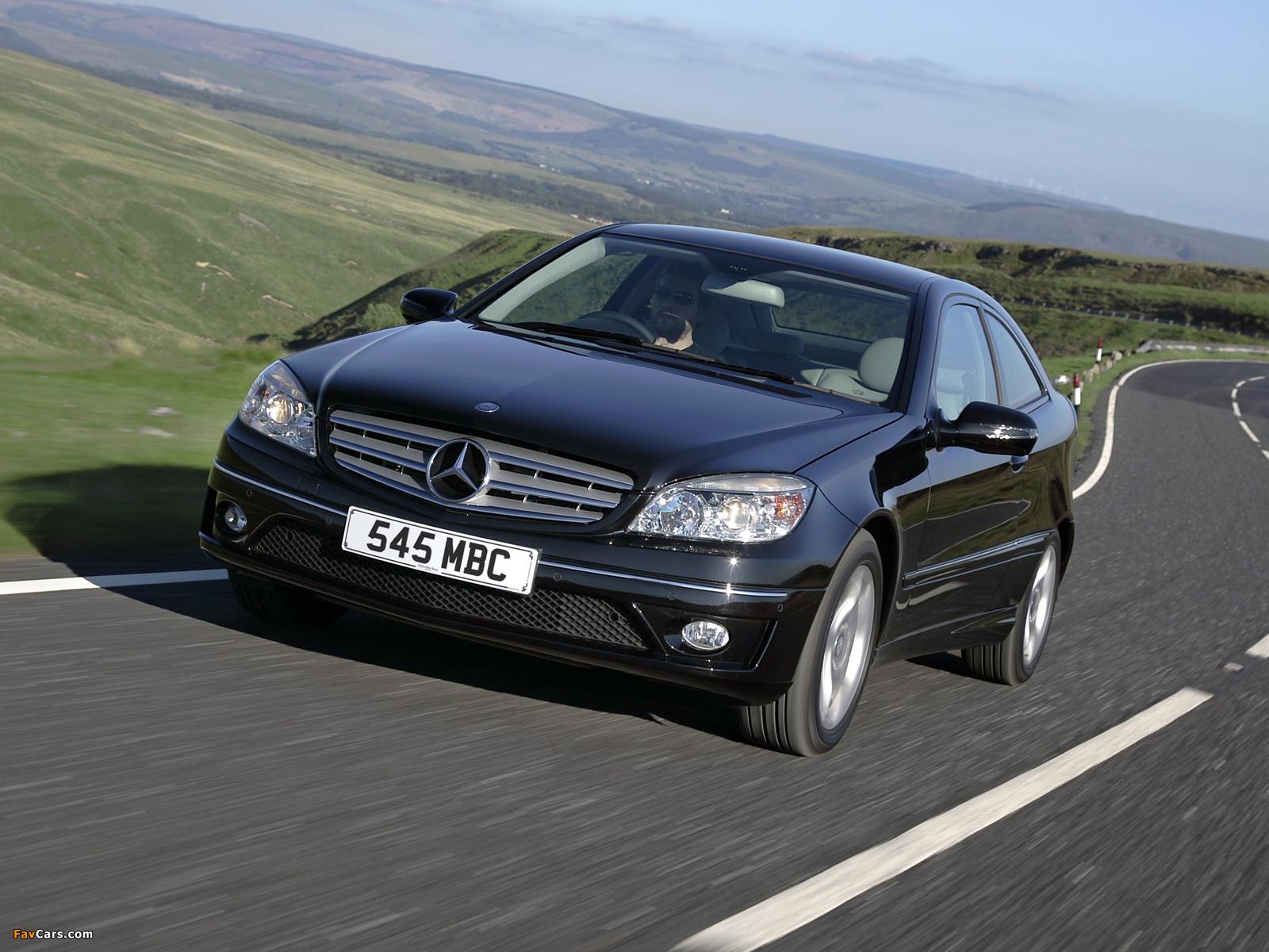 Mercedes-Benz CLC 220 CDI UK-spec 2008–10 images (1600 x 1200)