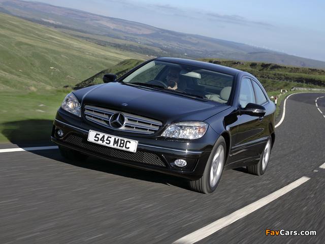 Mercedes-Benz CLC 220 CDI UK-spec 2008–10 images (640 x 480)
