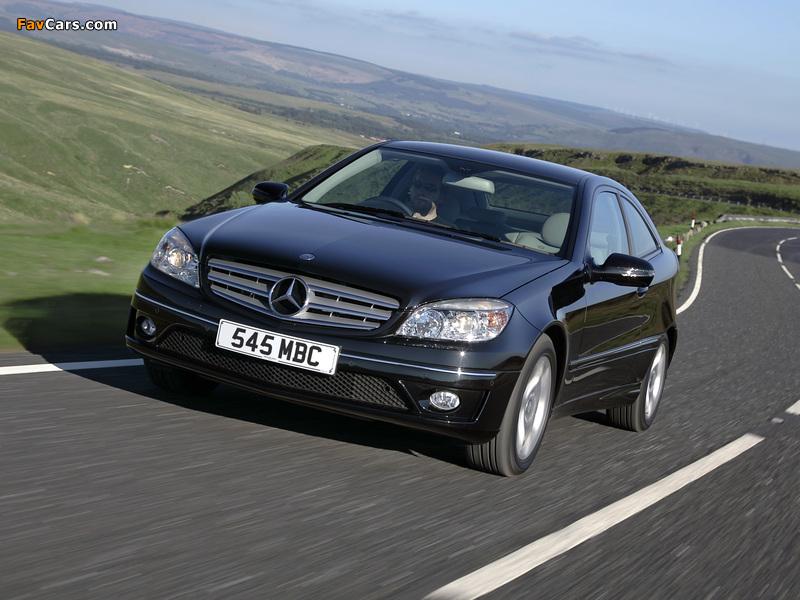 Mercedes-Benz CLC 220 CDI UK-spec 2008–10 images (800 x 600)