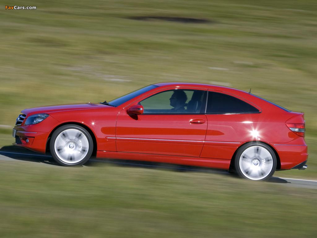Mercedes-Benz CLC 180 Kompressor UK-spec 2008–11 photos (1024 x 768)