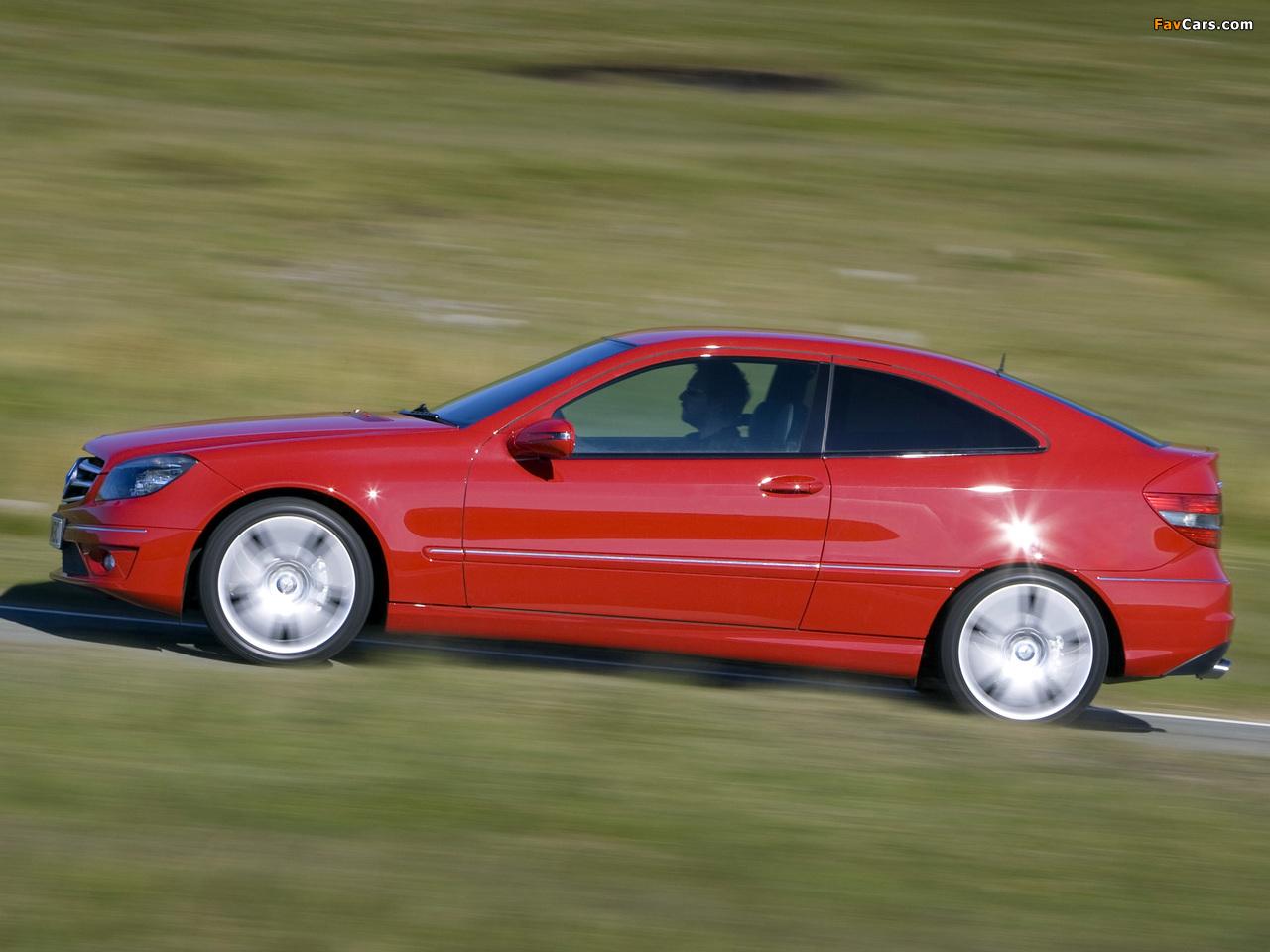 Mercedes-Benz CLC 180 Kompressor UK-spec 2008–11 photos (1280 x 960)