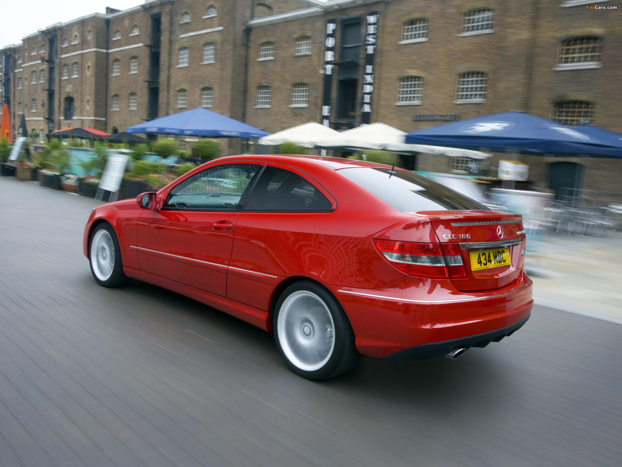 Mercedes-Benz CLC 180 Kompressor UK-spec 2008–11 pictures (2048 x 1536)