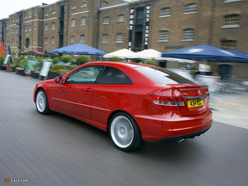 Mercedes-Benz CLC 180 Kompressor UK-spec 2008–11 pictures (1024 x 768)