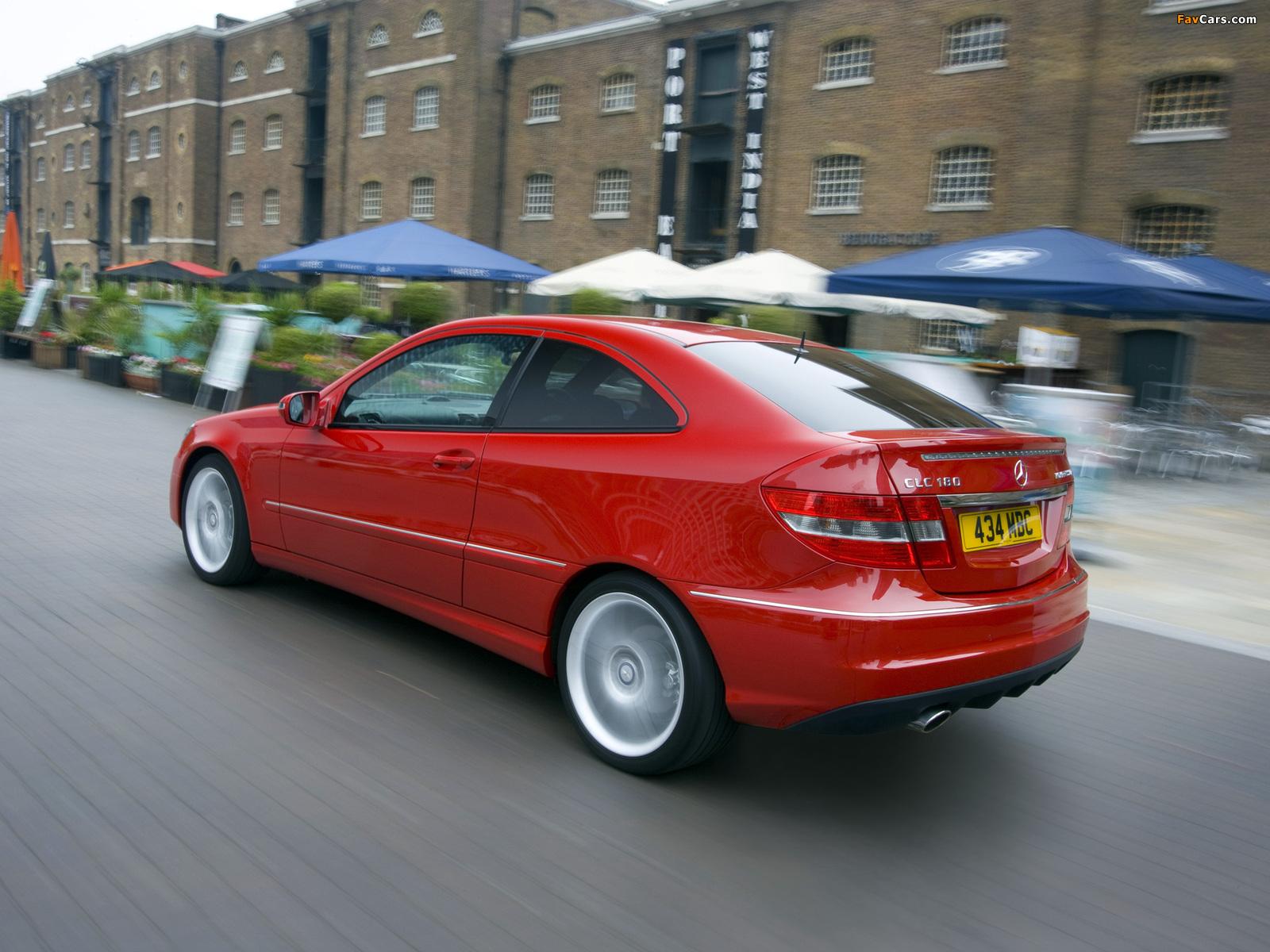 Mercedes-Benz CLC 180 Kompressor UK-spec 2008–11 pictures (1600 x 1200)