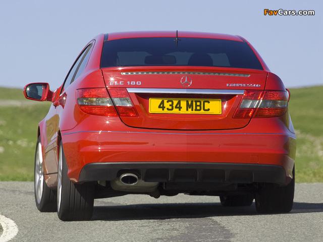 Mercedes-Benz CLC 180 Kompressor UK-spec 2008–11 pictures (640 x 480)