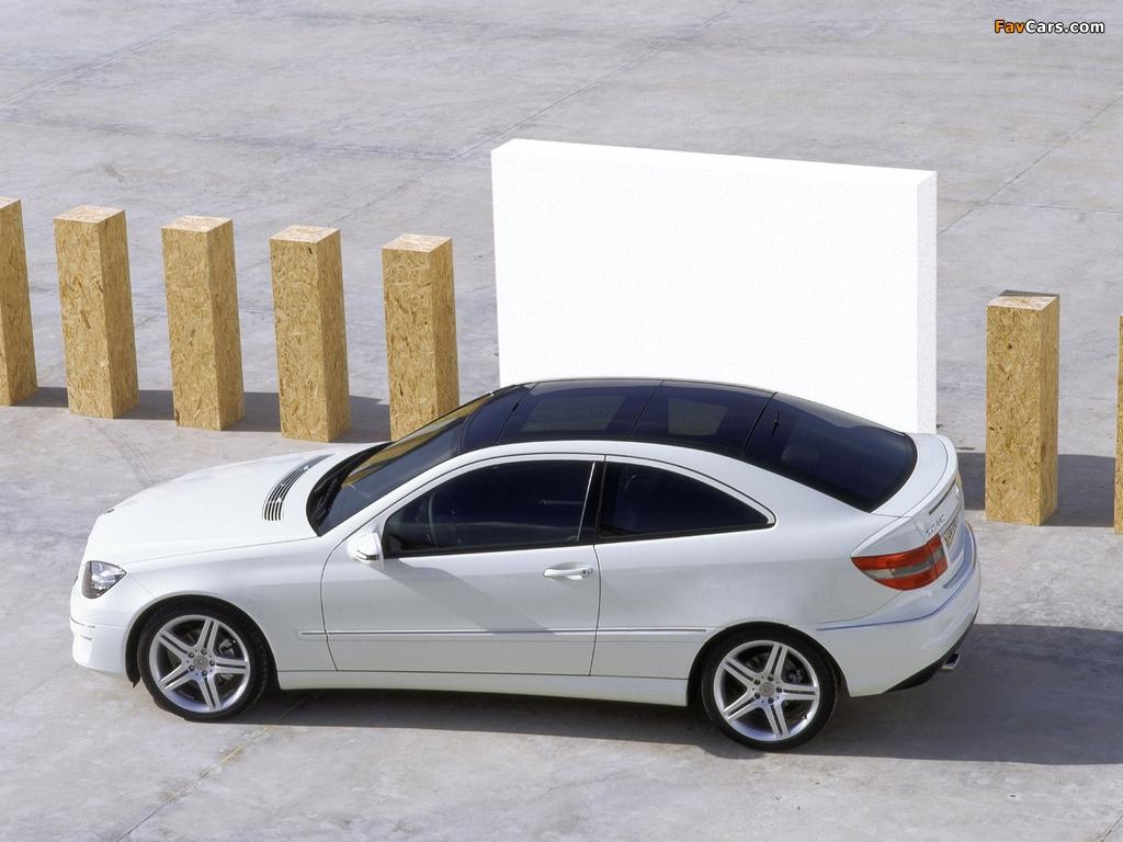 Mercedes-Benz CLC 220 CDI 2008–10 wallpapers (1024 x 768)