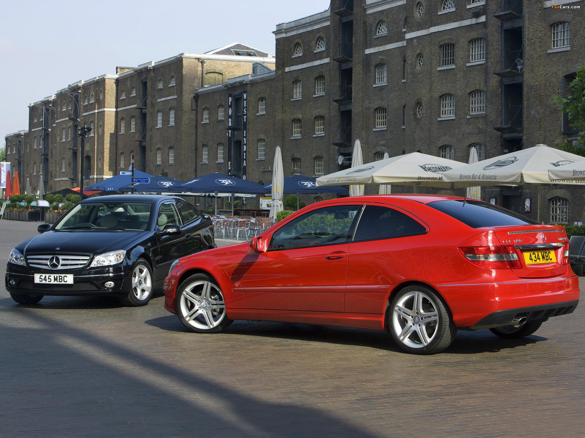 Mercedes-Benz CLC-Klasse images (2048 x 1536)