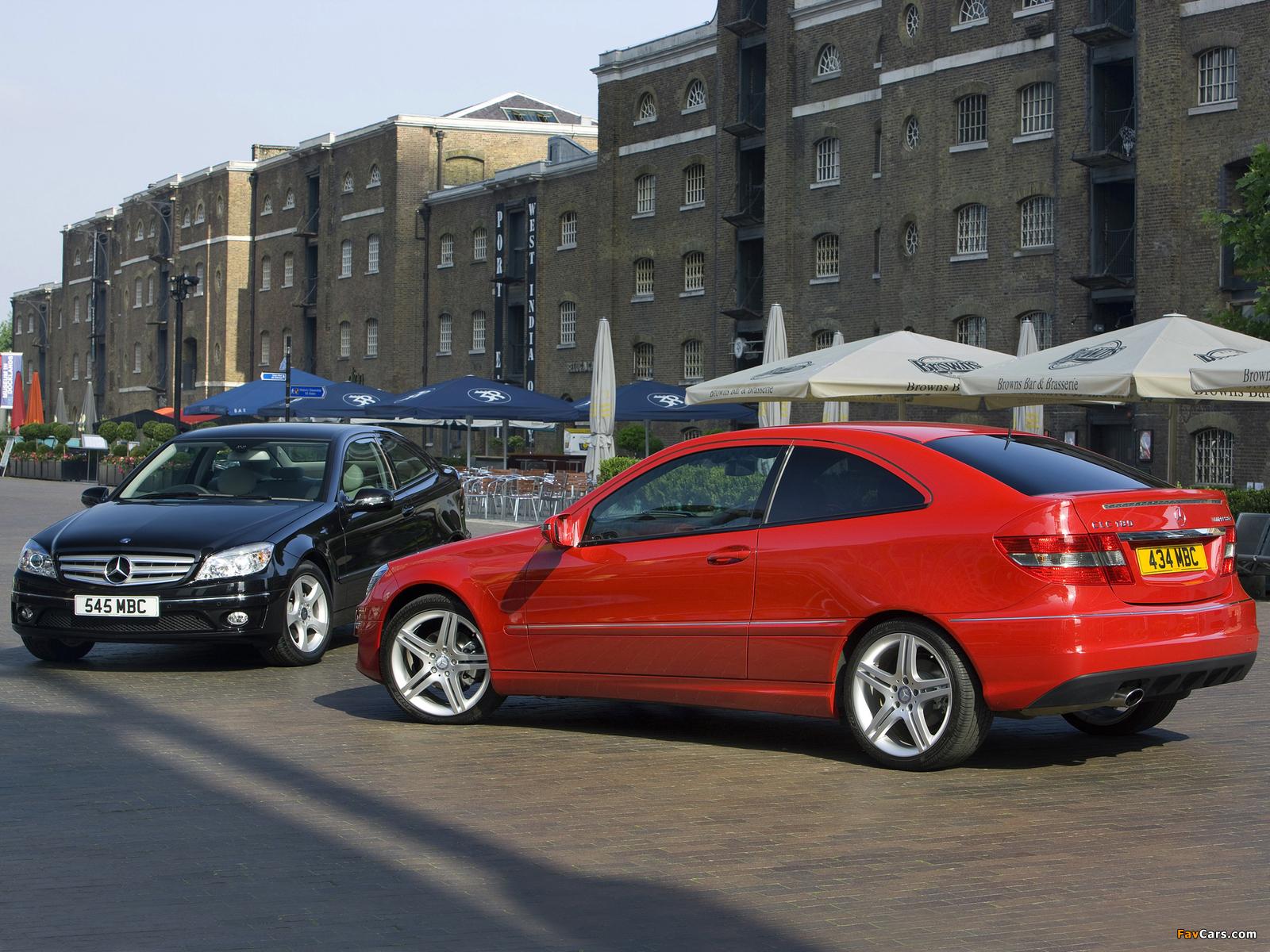 Mercedes-Benz CLC-Klasse images (1600 x 1200)