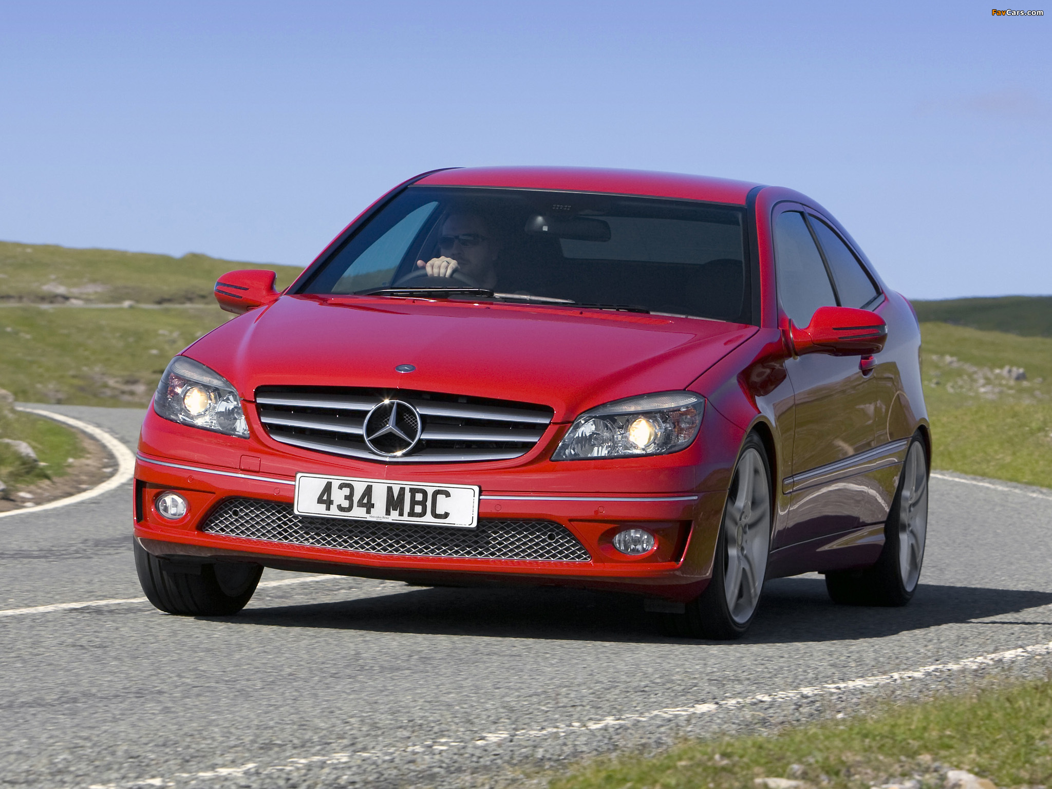Photos of Mercedes-Benz CLC 180 Kompressor UK-spec 2008–11 (2048 x 1536)