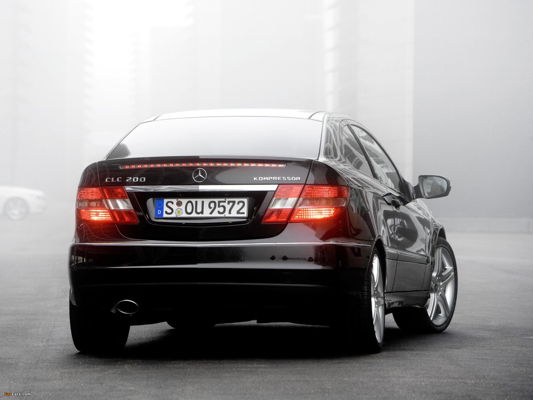 Photos of Mercedes-Benz CLC 200 Kompressor 2008–11 (2048 x 1536)