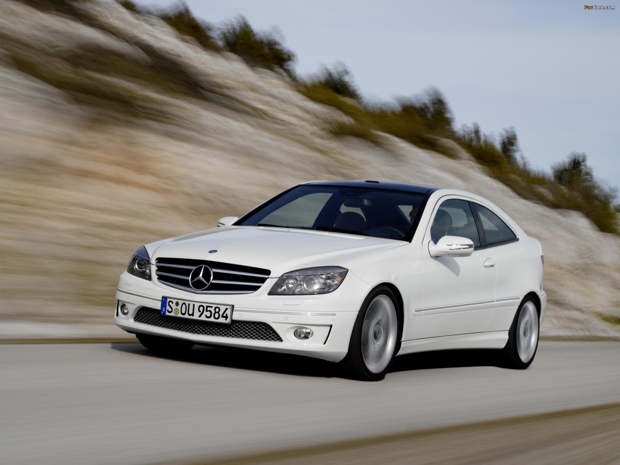 Pictures of Mercedes-Benz CLC 220 CDI 2008–10 (2048 x 1536)