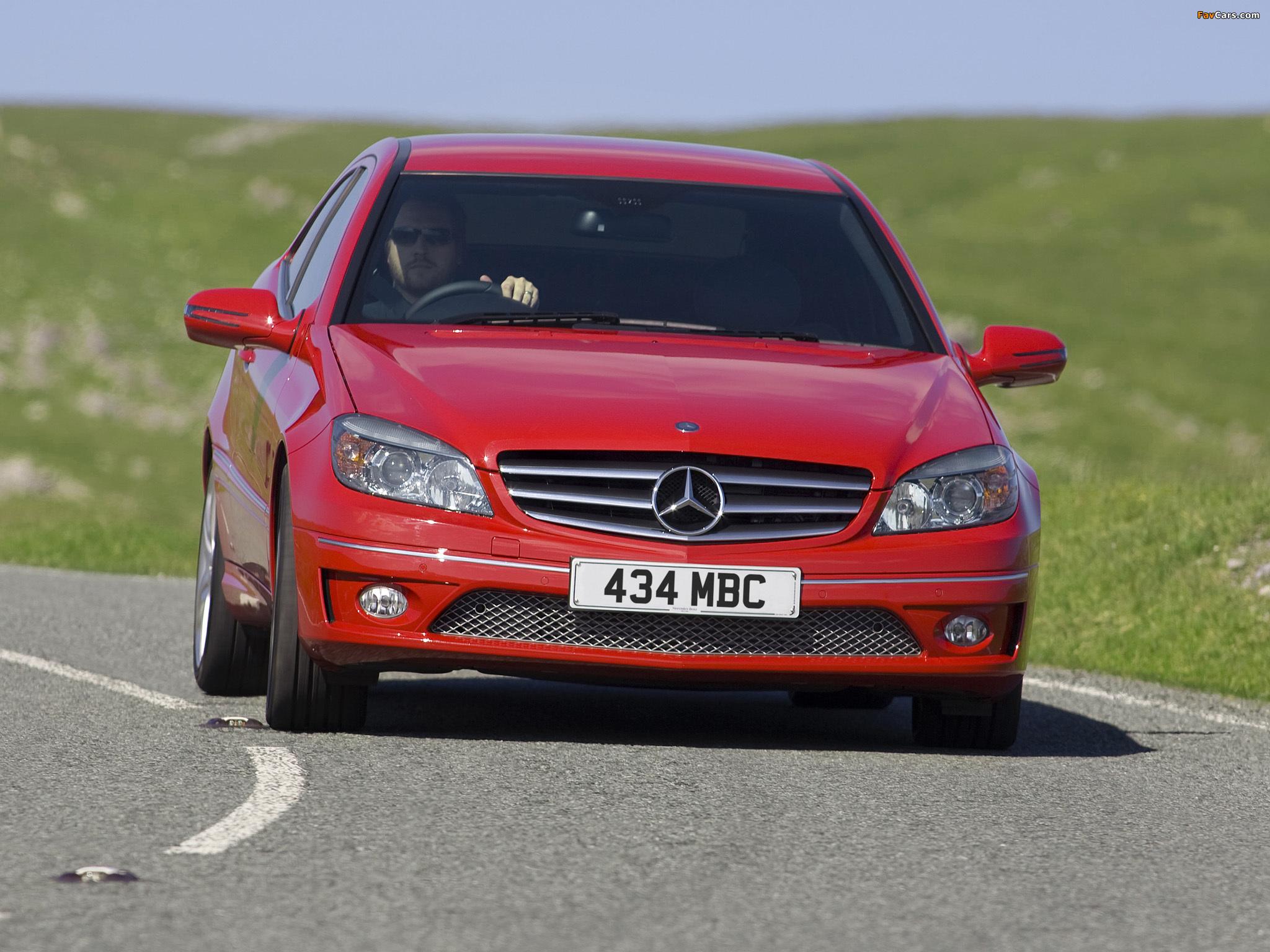 Pictures of Mercedes-Benz CLC 180 Kompressor UK-spec 2008–11 (2048 x 1536)