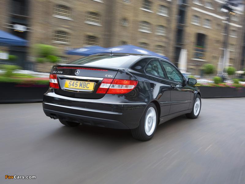 Pictures of Mercedes-Benz CLC 220 CDI UK-spec 2008–10 (800 x 600)