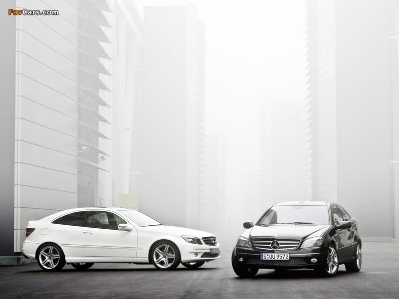 Pictures of Mercedes-Benz CLC-Klasse (800 x 600)
