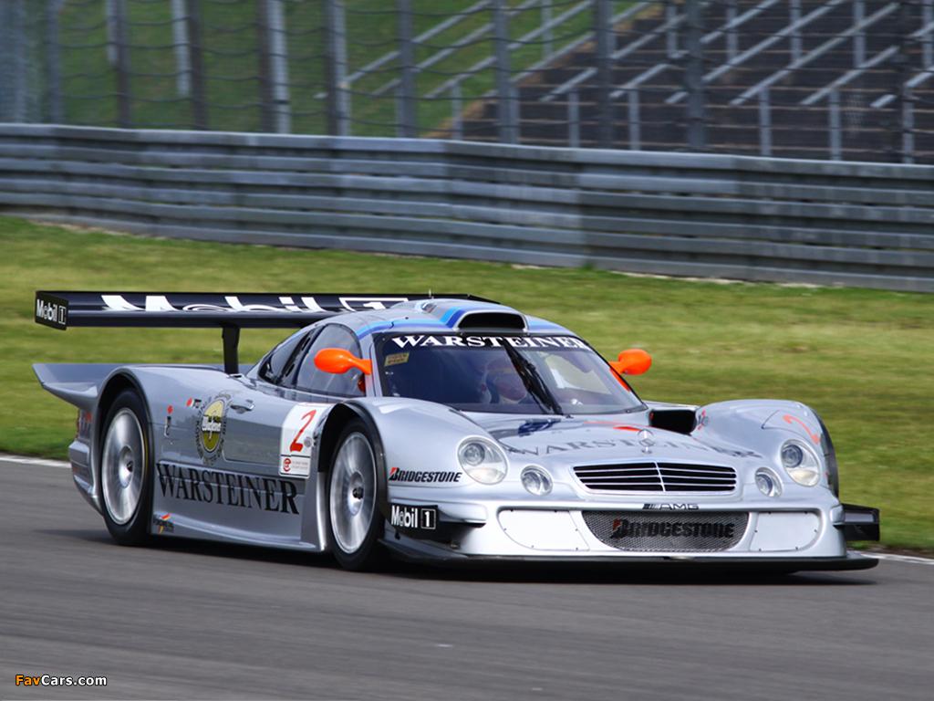 Mercedes Benz Amg >> Mercedes-Benz CLK GTR AMG Racing Version wallpapers (1024x768)