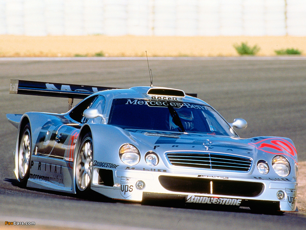 Pictures of Mercedes-Benz CLK GTR AMG Racing Version ...