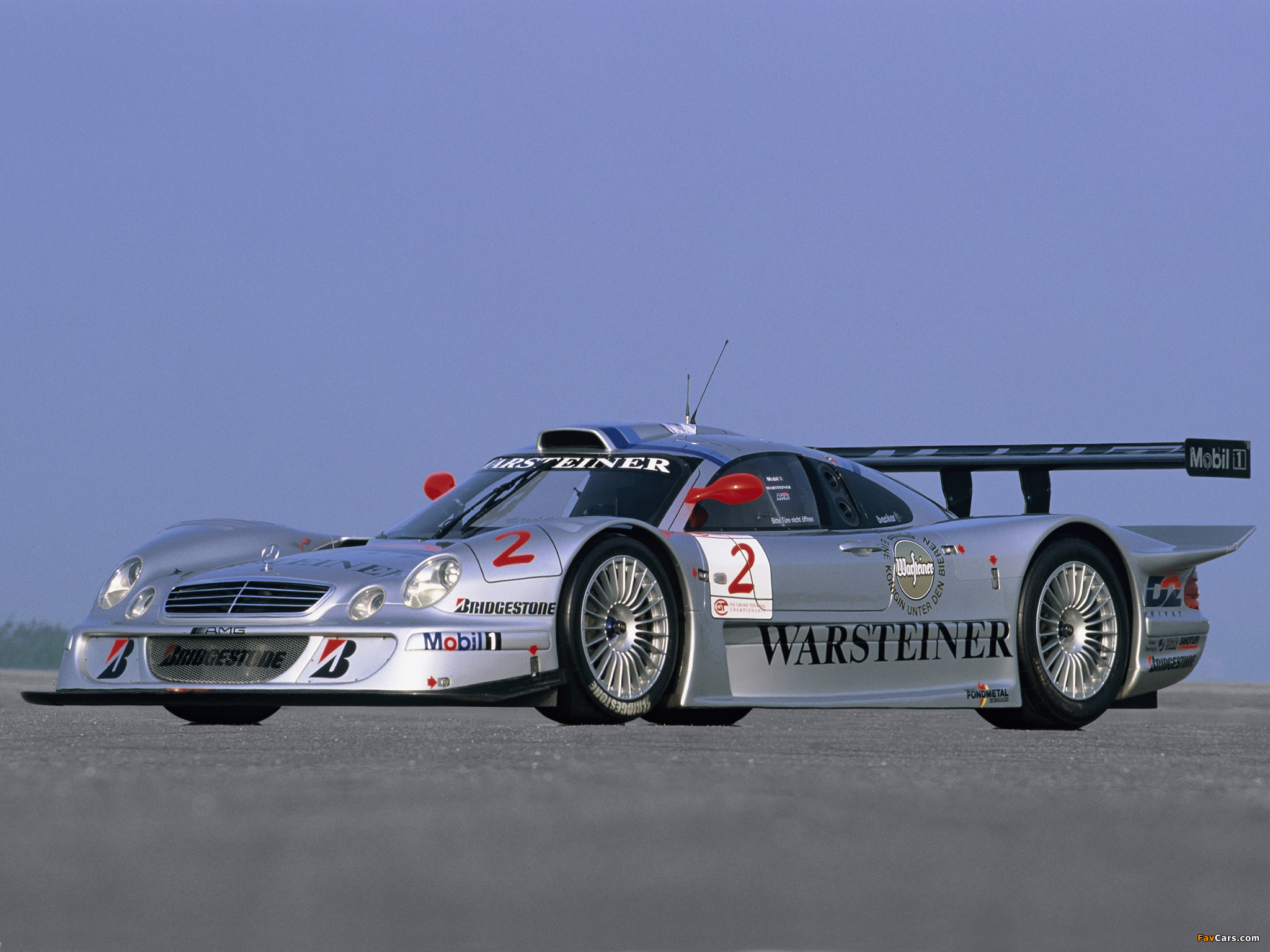Mercedes Benz Clk Gtr Amg Racing Version Wallpapers 2048x1536