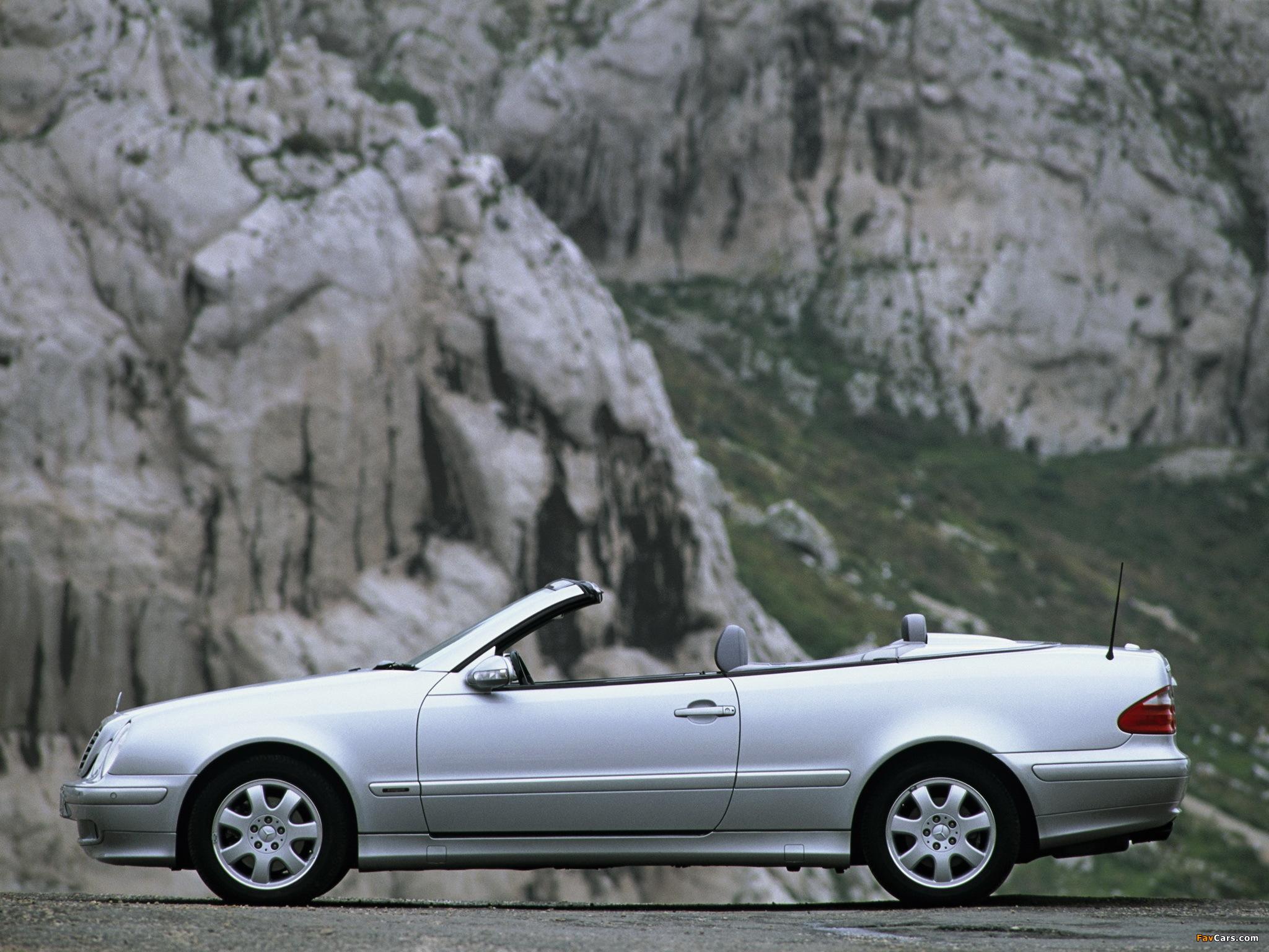 Images of Mercedes-Benz CLK 320 Cabrio (A208) 1998–2002 (2048 x 1536)